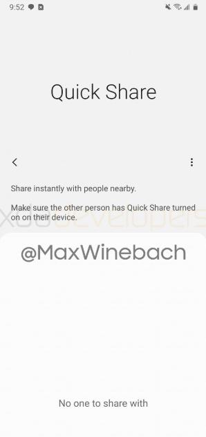 Samsung готовится представить свою функция для обмена файлами — Quick Share – фото 1
