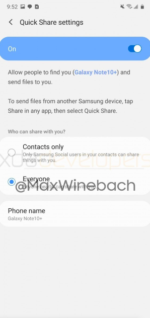 Samsung готовится представить свою функция для обмена файлами — Quick Share – фото 2