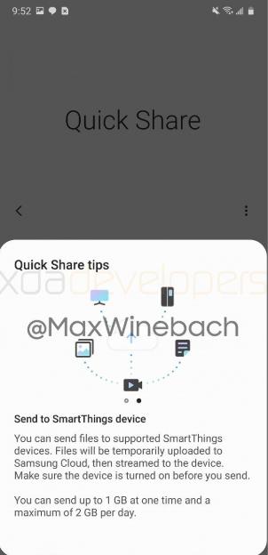 Samsung готовится представить свою функция для обмена файлами — Quick Share – фото 3