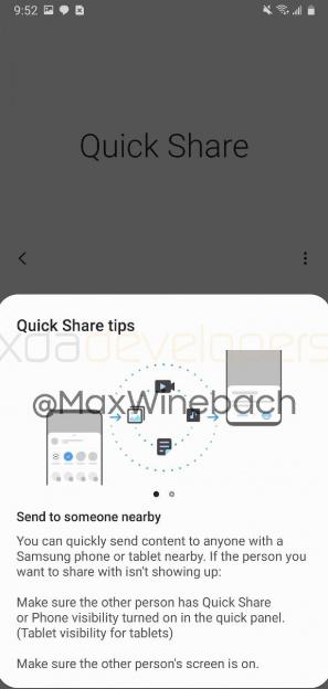 Samsung готовится представить свою функция для обмена файлами — Quick Share – фото 4