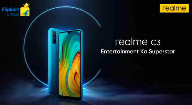Анонс Realme C3: чип Helio G70, емкая батарейка и Realme UI