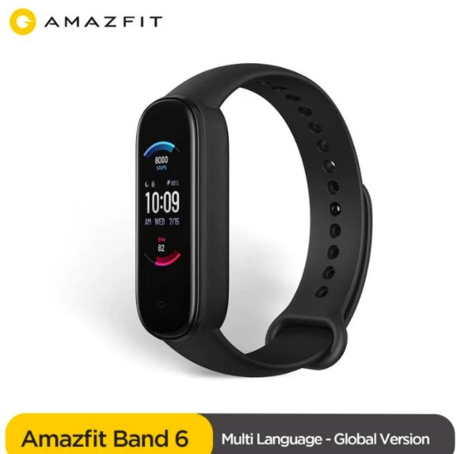 Фитнес-трекер Amazfit Band 6: Xiaomi Mi Band 5 c Alexa и датчиком SPO2 – фото 3
