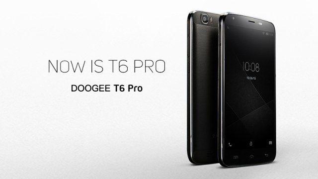 Doogee T6 Pro с емким аккумулятором на 6250 мАч и на базе МТ6753 доступен по предзаказу по цене $149,99 – фото 1