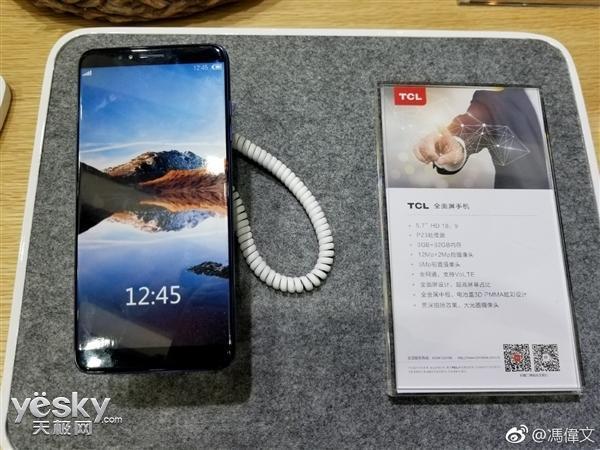 TCL анонсировала безрамочный смартфон на базе Helio P23 – фото 2