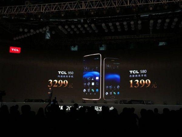TCL 950 и TCL 580 получили AMOLED дисплеи и камеры от SONY – фото 1