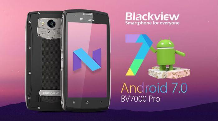 Защищенный Blackview BV7000 Pro получил обновление до Android 7.0 Nougat – фото 1