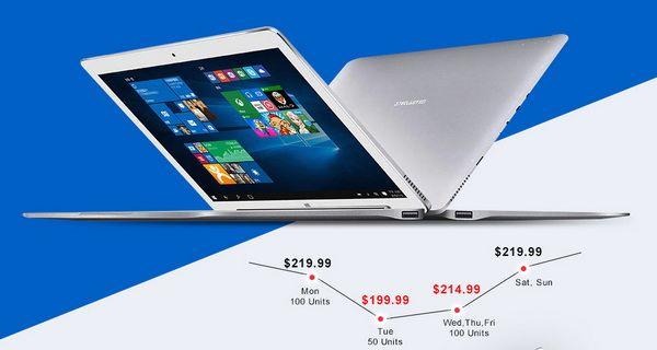 Гибридный планшет Teclast Tbook 16 Pro всего за $219,99 в магазине Gearbest.com – фото 1