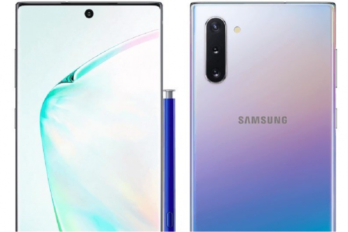 Пресс-рендеры Samsung Galaxy Note 10 – фото 1