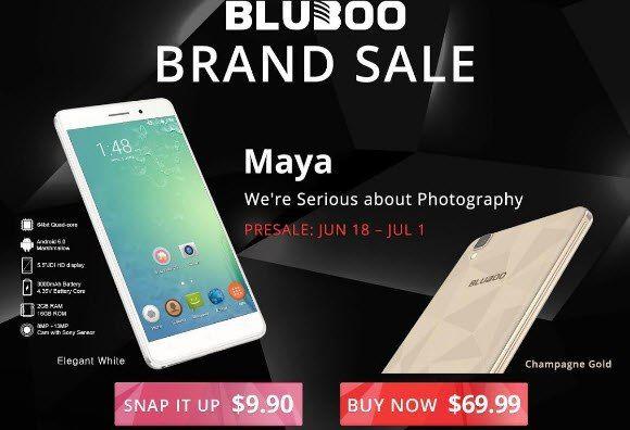Bluboo Maya еще может стать вашим всего за $9,99 – фото 1