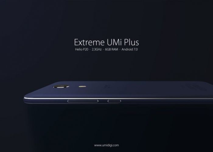 UMi Plus Extreme – стильный смартфон на базе Helio P20 и 6 Гб ОЗУ – фото 1