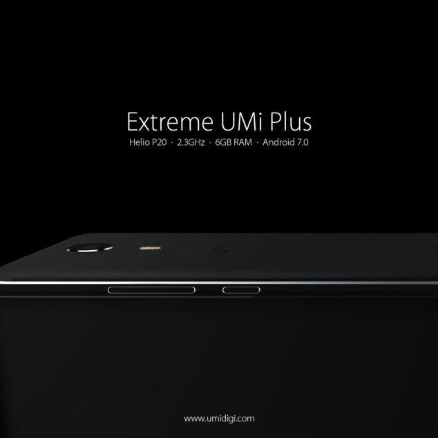 UMi Plus Extreme – стильный смартфон на базе Helio P20 и 6 Гб ОЗУ – фото 2