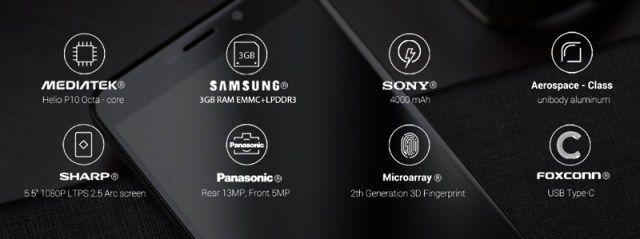 UMi Max: характеристики и цена смартфона объявлены – фото 3