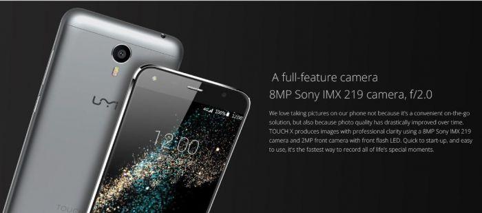 UMi Touch X получит процессор МТ6735А, 2+16 Гб памяти, камеру с сенсором Sony IMX219 и ценник в $119.99 – фото 5