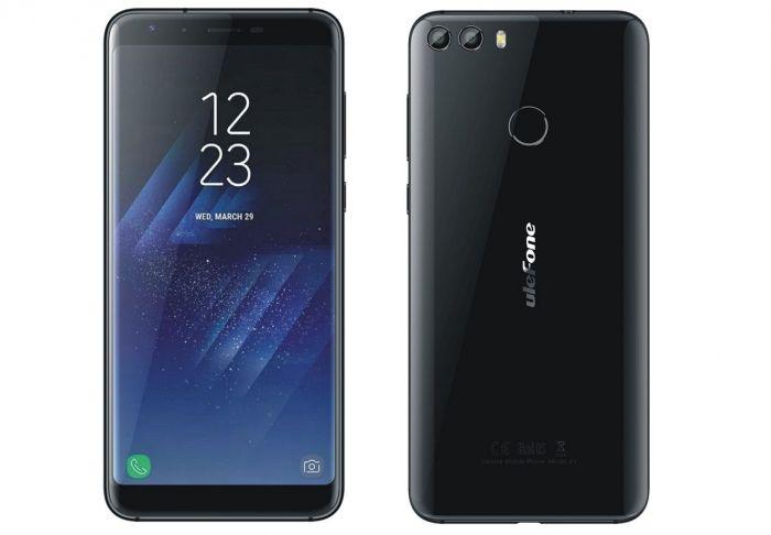 Ulefone F2 будет создан по образу и подобию Samsung Galaxy S8 – фото 1