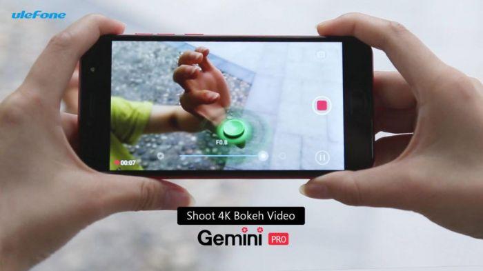 Ulefone Gemini Pro способен снимать 4К видео с эффектом боке – фото 1