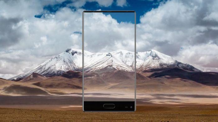 Ulefone выпустила видео тизер безрамочного смартфона Mix – фото 1