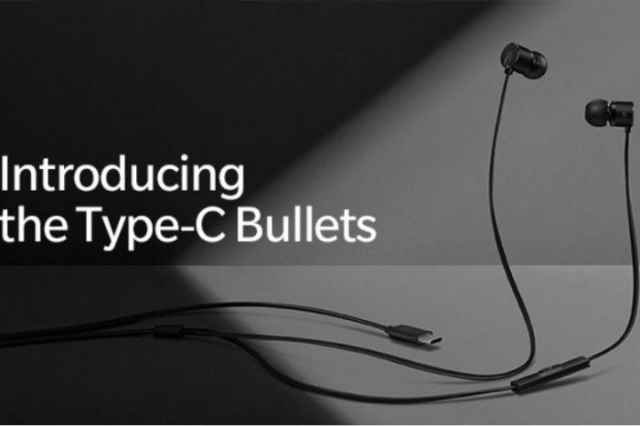 OnePlus анонсировала наушники Type-C Bullets с разъемом USB-C – фото 1