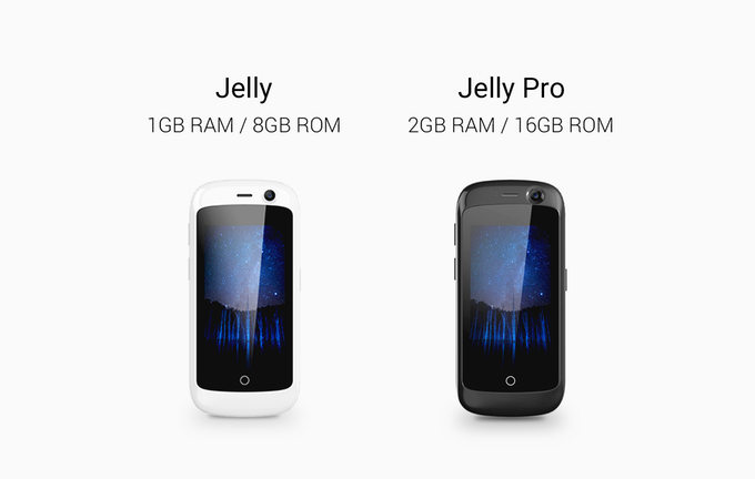 Jelly и Jelly Pro — самые маленькие смартфоны с Android 7.0 Nougat – фото 1