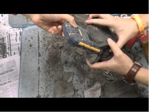 VCHOK M9-LTE испытали на живучесть цементным раствором – фото 2