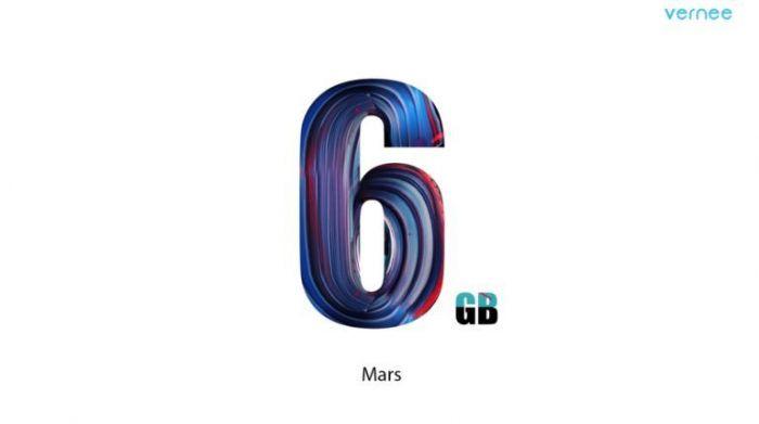 Vernee Mars будет построен на платформе Helio P20 с 6 Гб оперативки – фото 1