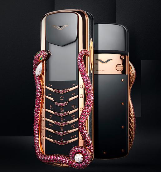 Уникальную коллекцию телефонов Vertu пустят с молотка – фото 2