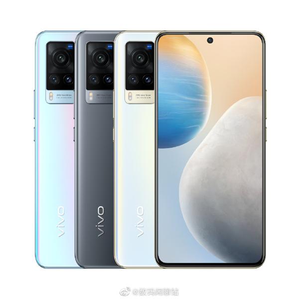 Vivo X60 и X60 Pro: пресс-фото новинок и детали о них – фото 1
