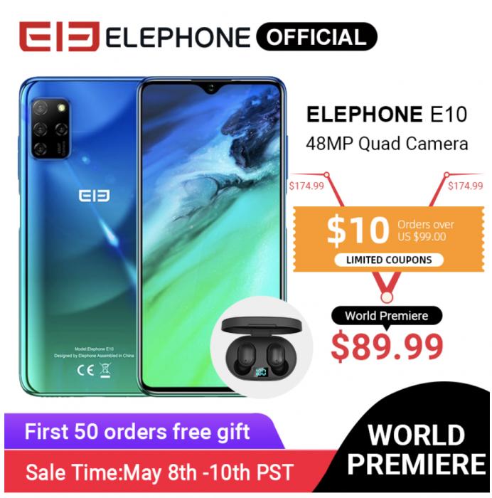 Вышел Elephone E10: доступный смартфон с NFC и Android 10 – фото 6