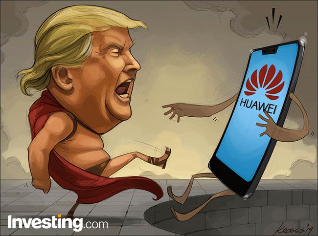 Потери зарубежных компаний из-за санкций против Huawei оцениваются в миллиарды долларов – фото 1