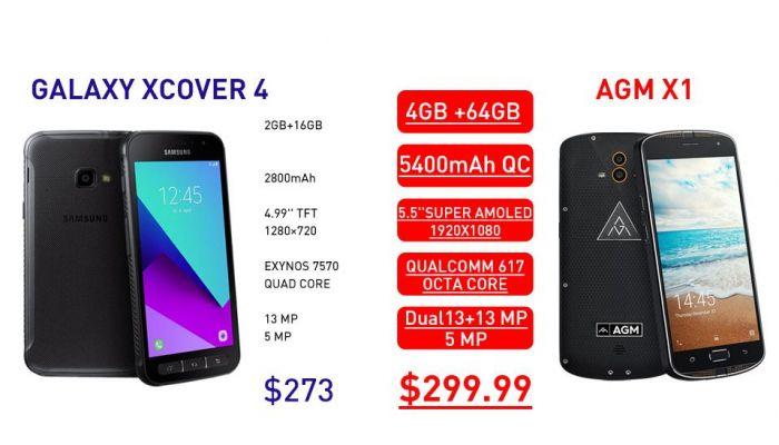 Какой защищенный смартфон купить: изучаем AGM X1 и Samsung Galaxy Xcover 4 – фото 2