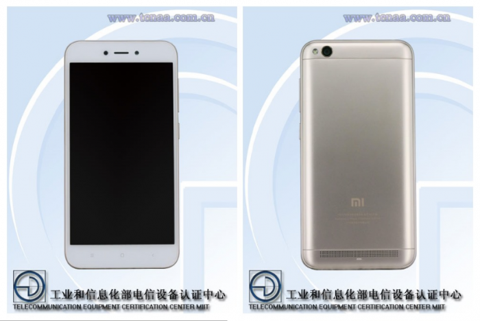 Xiaomi Redmi 5A был замечен в TENAA. Характеристики не впечатляют, не так ли? – фото 1