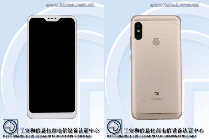 Xiaomi Redmi 6: изображения и характеристики с сайта TENAA – фото 1