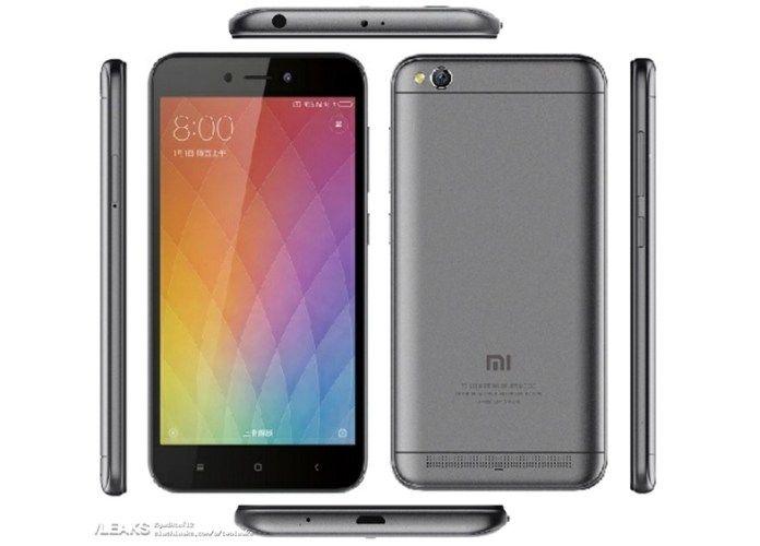 Xiaomi Redmi 5A: рендер, характеристики, дата анонса и цена бюджетника – фото 1