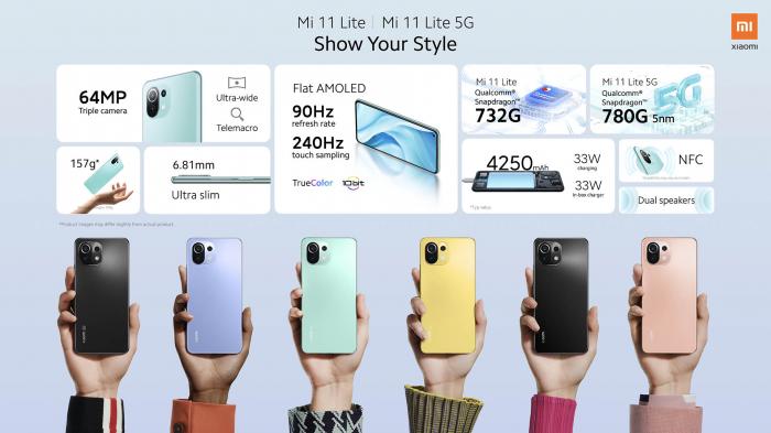 Анонс Xiaomi Mi 11 Lite: тонкий, звонкий, молодежный – фото 2