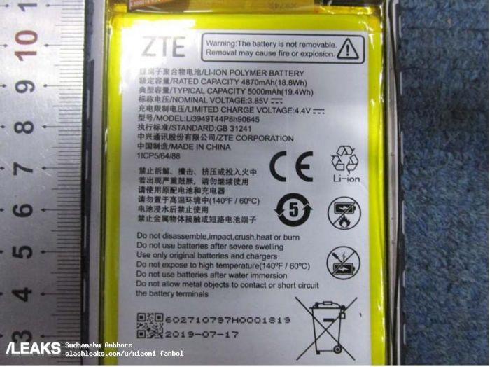 ZTE Blade 20 получит емкую батарею и основную камеру на манер iPhone 11 Pro – фото 3
