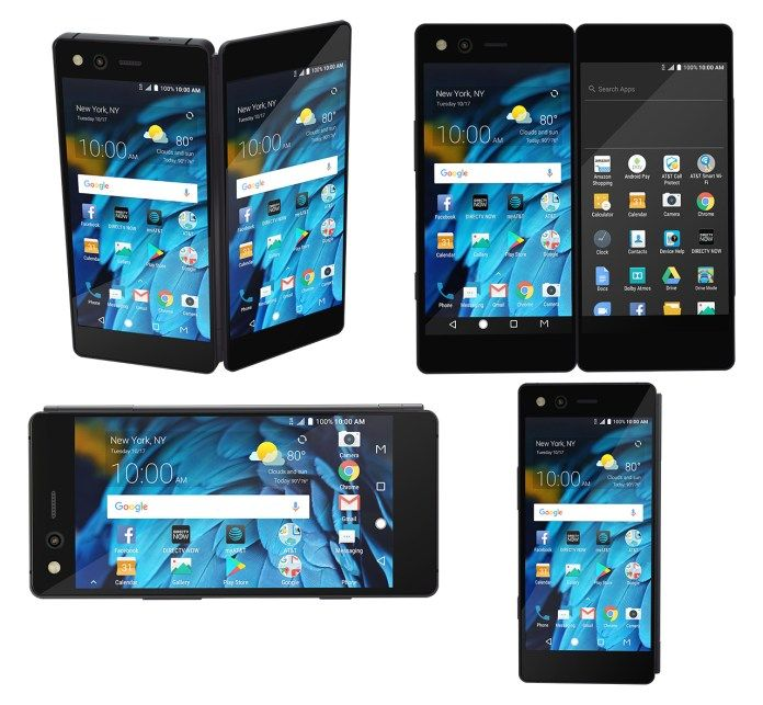Складной смартфон ZTE Axon M представлен – фото 9