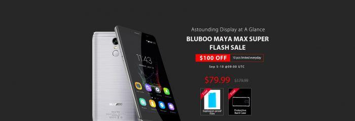 Распродажа Bluboo Maya Max в магазине Gearbest.com: 10 штук по $79.99 или по $139.99 ежедневно – фото 1