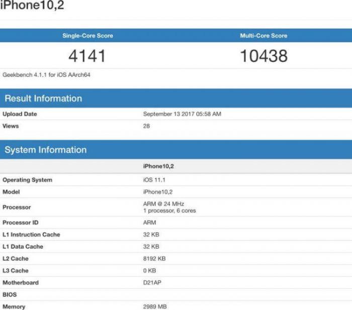 AnTuTu и Geekbench: результаты тестов новых iPhone – фото 2