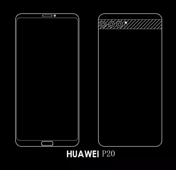 Huawei P20 на рендерах. Считаем камеры – фото 6