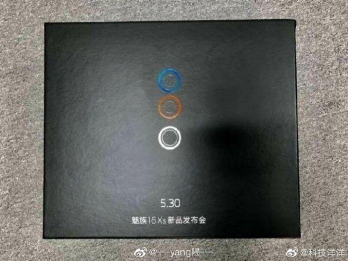 Объявлена дата премьеры Meizu 16Xs – фото 1