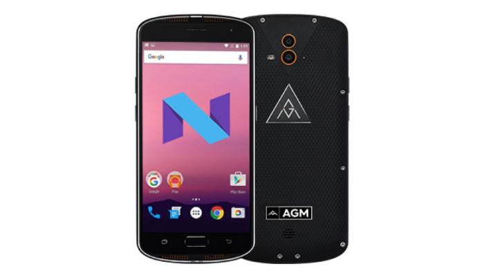 AGM X1 получил апдейт до Android 7.0 Nougat – фото 1