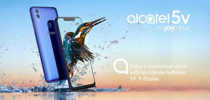 Представлен Alcatel 5V с большим экраном и емким аккумулятором – фото 1