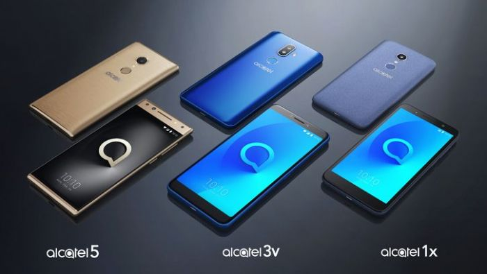 Alcatel анонсировала модельный ряд смартфонов 2018 года – фото 1