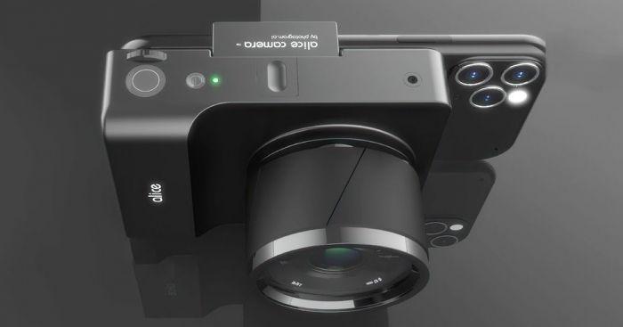 Концепт Alice Camera: странная и дорогая приблуда в попытке объединить смартфон и зеркальную камеру – фото 2