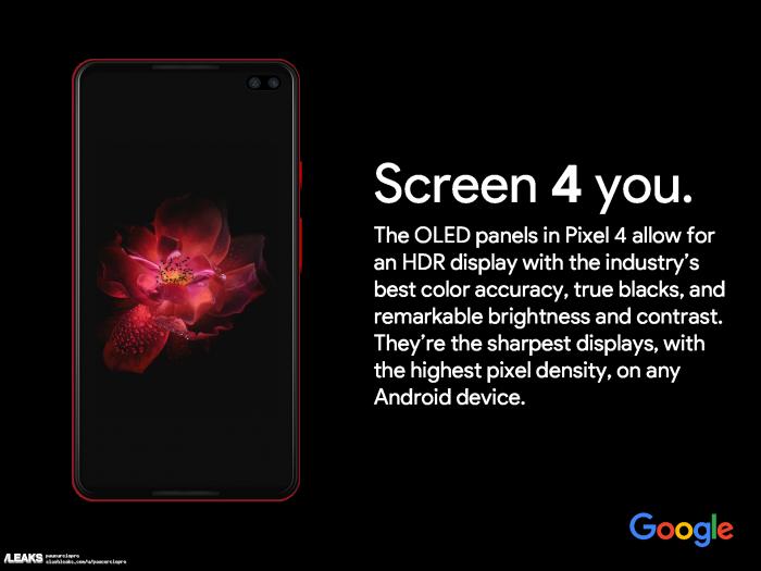 Предположительно, показали рекламный тизер Google Pixel 4 XL – фото 1