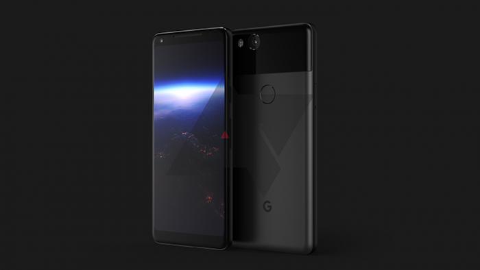 Реалистичный рендер Google Pixel XL 2 – фото 1