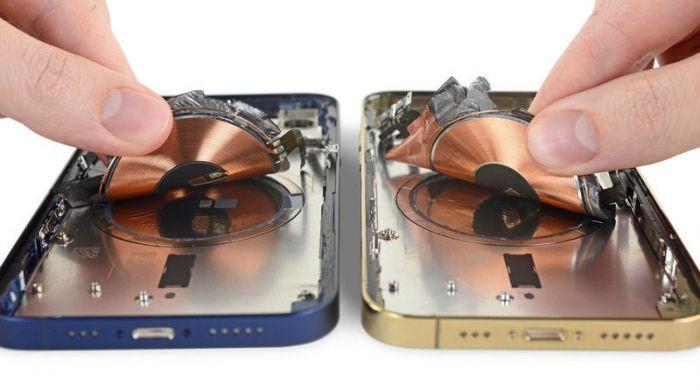 iPhone 12 беспроводная зарядка