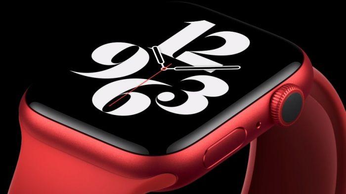 Apple Watch 6 презентация