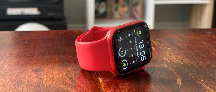 Живая фотография Apple Watch 6
