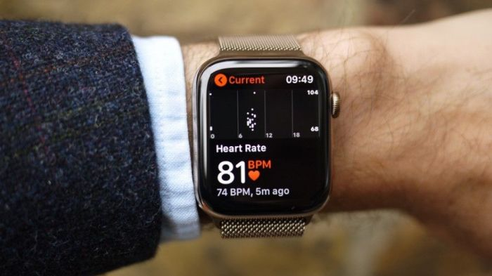 Монитор пульса Apple Watch