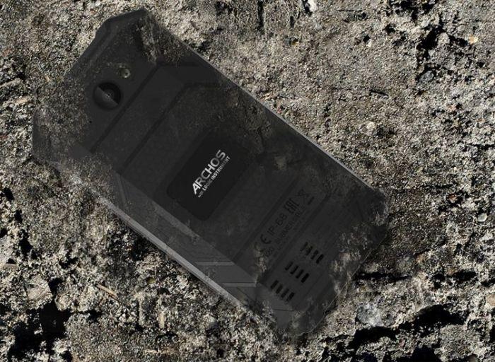 ARCHOS зачем-то анонсировала защищенный смартфон Saphir 50X – фото 1
